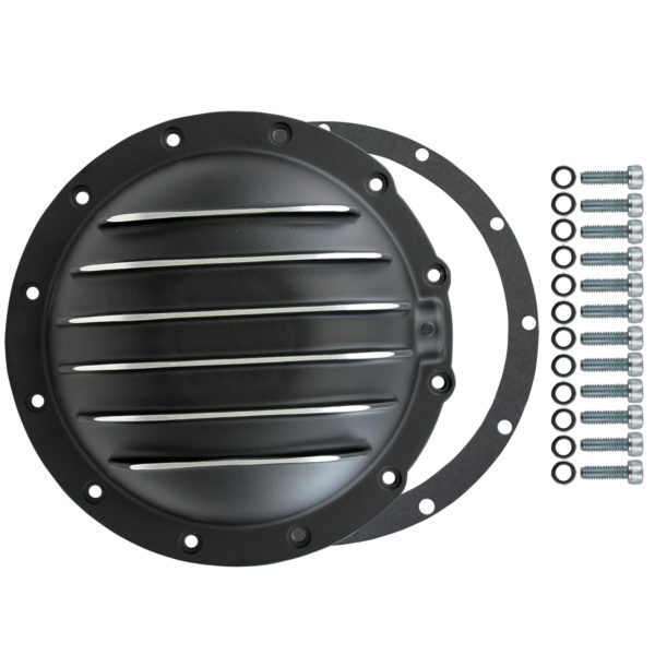 Specialty Products 4906BKKIT Differential Cover, Aluminum, Black Powder Coat / Machined Fins, Jeep 12 Bolt, Jeep AMC, Each