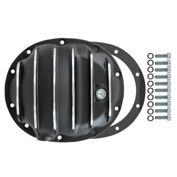 Specialty Products 4908BKKIT Differential Cover, Gasket / Hardware Included, Aluminum, Black, Dana 35, Each