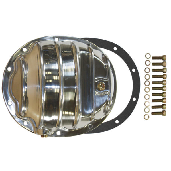 Specialty Products 4908KIT Differential Cover, Gasket / Hardware Included, Aluminum, Polished, Dana 35, Each