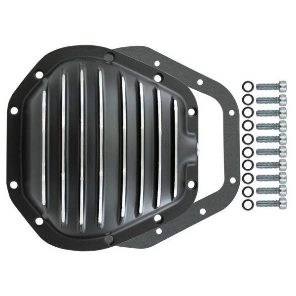 Specialty Products 4911BKKIT Differential Cover, Gasket / Hardware Included, Aluminum, Black, Dana 60, Each