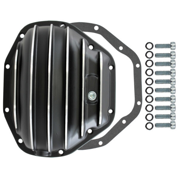 Specialty Products 4912BKKIT Differential Cover, Gasket / Hardware Included, Aluminum, Chrome, Dana 80, Each
