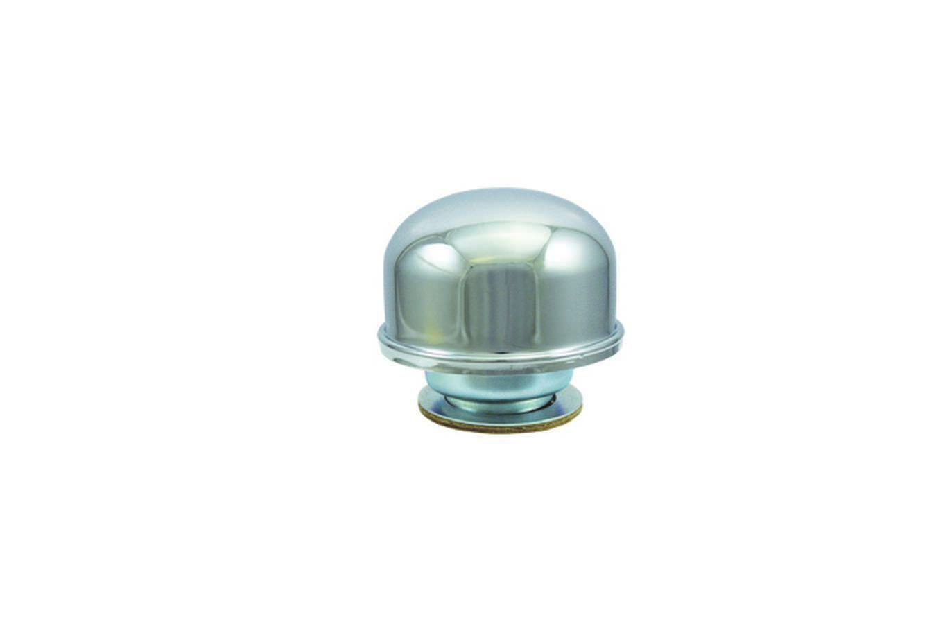 Specialty Products 7271 Breather, Twist-On, Round, Steel, Chrome, Each