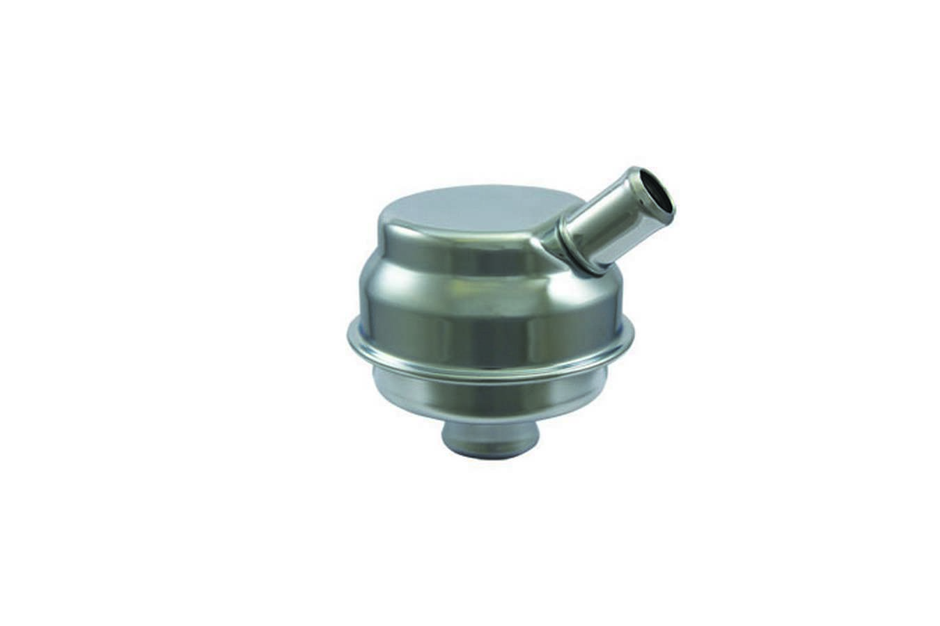 Specialty Products 7275 Breather, Push-In, Round, 1-1/4 in Hole, 5/8 in Hose Evacuation Fitting, Steel, Chrome, Each