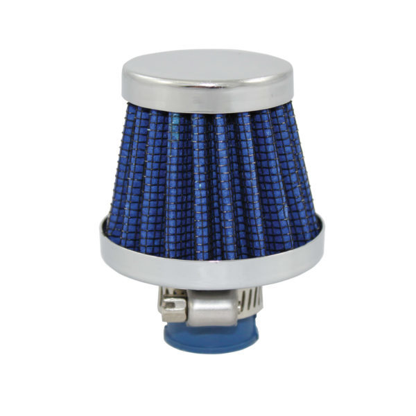 Specialty Products 7313 Breather, Clamp-On, Conical, 1/2 in OD Tube, Reusable, Rubber / Steel, Blue, Each
