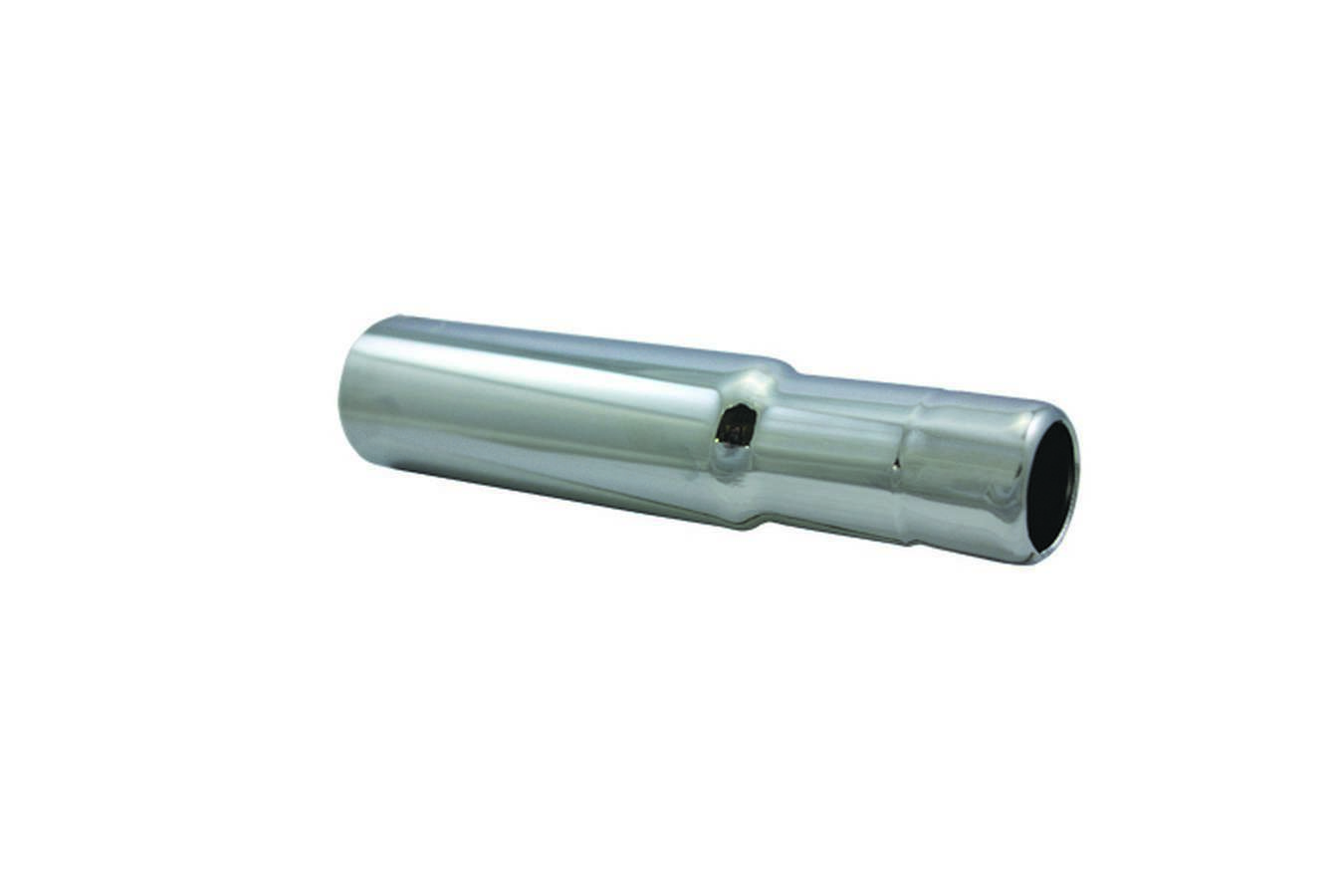 Specialty Products 7394 Oil Filler Tube, Push-In, Manifold Mount, 1-1/4 in to 1-1/2 in Manifold Hole, Steel, Chrome, Each