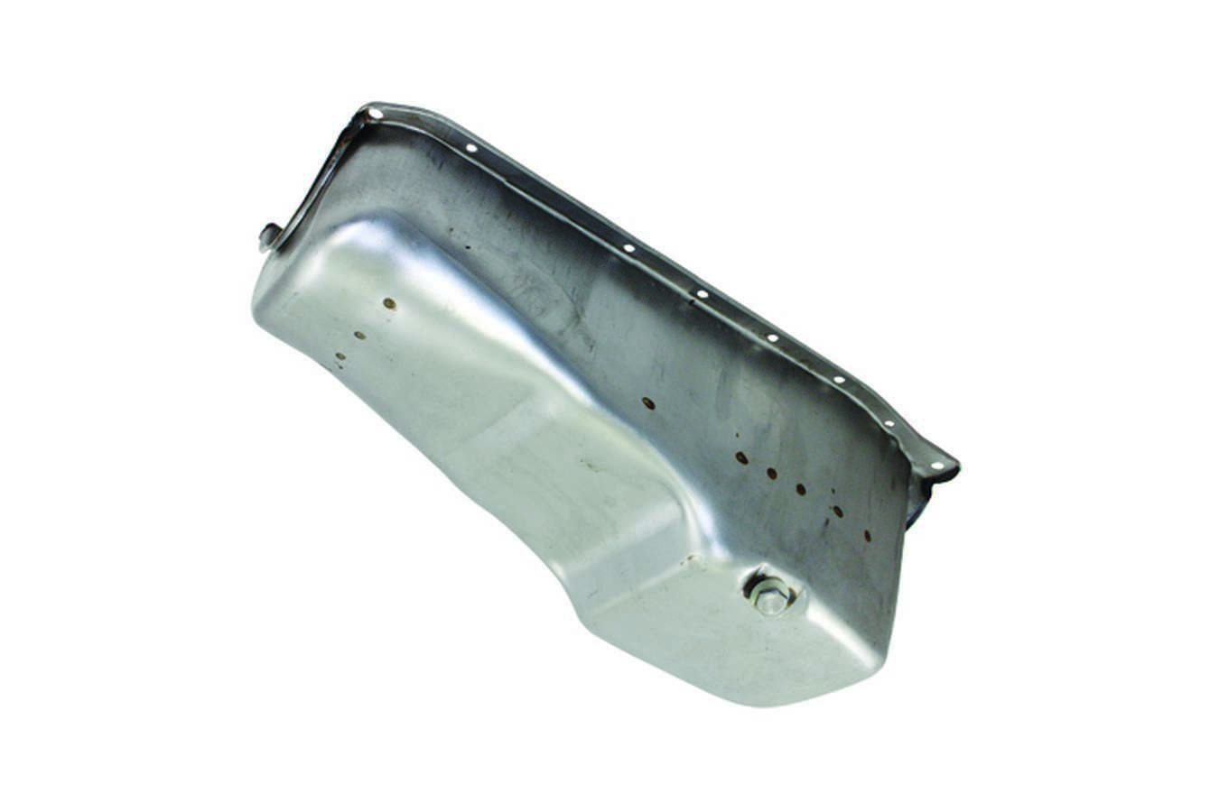 Specialty Products 7441X Engine Oil Pan, Rear Sump, 4 qt, Stock Depth, Steel, Natural, Small Block Chevy, Each
