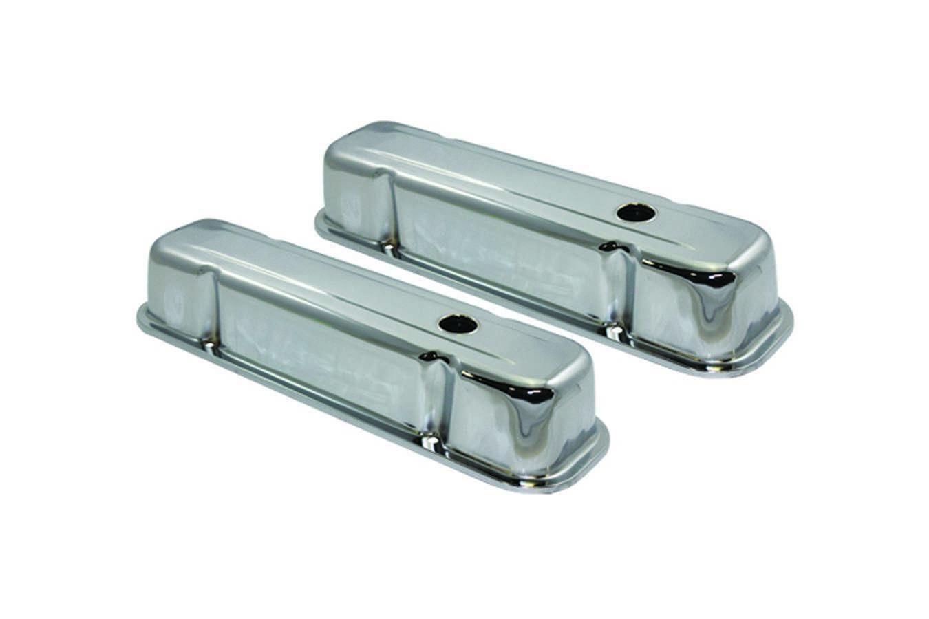 59-79 Pontiac V8 Steel Tall V/C Chrome
