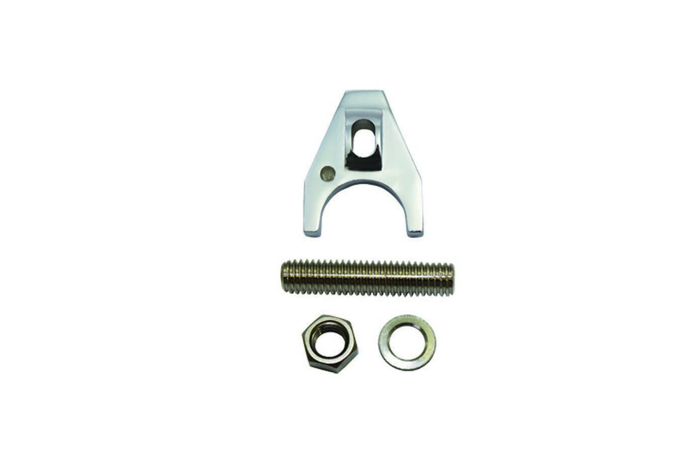 Specialty Products 7627 Distributor Hold Down Cl amp Chevy (Silver Billet