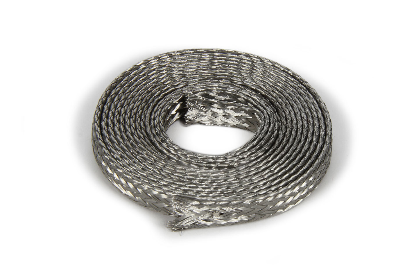Spectre 1008B Hose and Wire Sleeve, Magna Braid, 1/4 in to 3/8 Hose, 6 ft, Braided Stainless, Each
