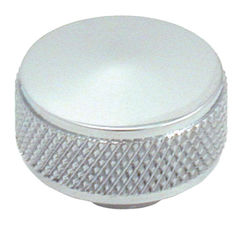 Spectre 1758 Air Cleaner Nut, Knurled, 1/4-20 in Thread, Steel, Chrome, Each