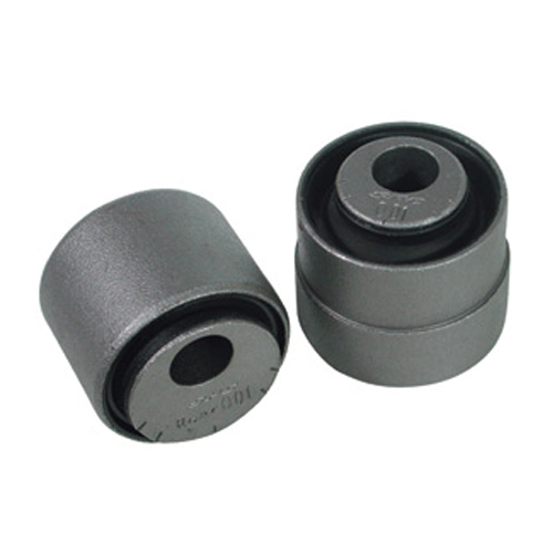 SPC Performance 66050 Trailing Arm Bushing, Adjustable, Rear, Rubber / Steel, Black, Mopar LX-Body 2005-15, Kit
