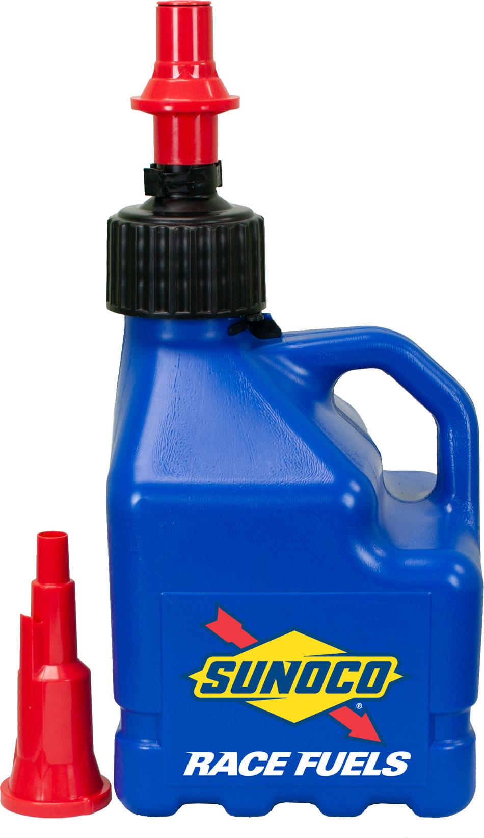 Blue Sunoco 3 Gallon Utility Jug w/ Fastflo