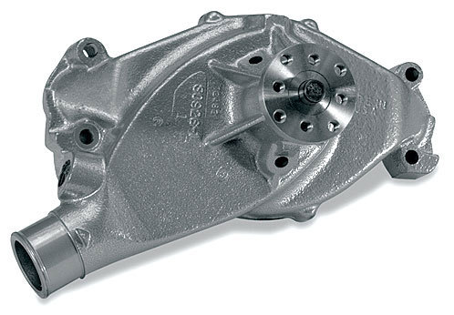 Stewart 11104 Water Pump, Mechanical, Stage 1, 5/8 in Pilot, Short Design, Iron, Natural, Big Block Chevy, Each