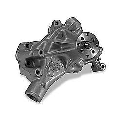 Stewart 13113 Water Pump, Mechanical, Stage 1, 5/8 in Pilot, Long Design, Iron, Natural, Small Block Chevy, Each