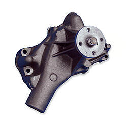 Stewart 13123 Water Pump, Mechanical, Stage 1, Reverse Rotation, 5/8 in Pilot, Long Design, Iron, Natural, Small Block Chevy, Each