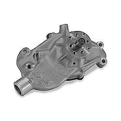 Stewart 13403 Water Pump, Mechanical, Stage 1, Reverse Rotation, 3/4 in Pilot, Short Design, Iron, Natural, Small Block Chevy, Each