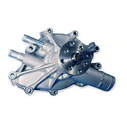 Stewart 16133 Water Pump, Mechanical, Stage 1, 5/8 in Pilot, Iron, Natural, Small Block Ford, Each