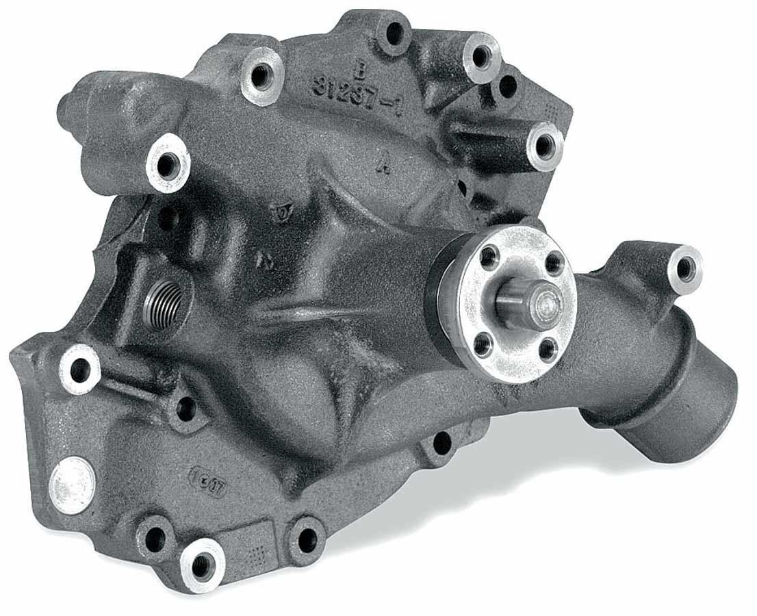 Stewart 16163 Water Pump, Mechanical, Stage 1, 5/8 in Pilot, Iron, Natural, Big Block Ford, Each