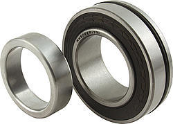 Strange A1019 Wheel Bearing, 3.150 in OD, 1.772 in Shaft, Lock Ring Included, Each