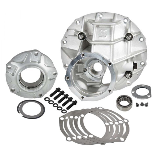 Strange P3200 Differential Case, 3.062 in Bore, Hardware Included, Aluminum, Natural, Ford 9 in, Kit