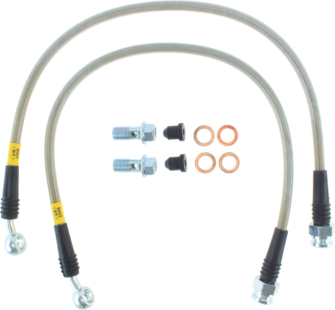 StopTech 950.62500 Brake Line Kit, Premium Sport, OE Replacement, Chevy Corvette 1997-2004, Kit