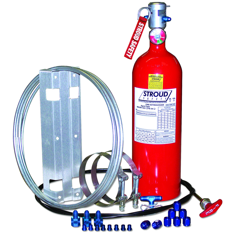 10# FE-36 Fire Suppressn System