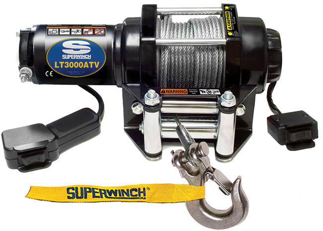 3000# ATV Winch w/Roller Fairlead