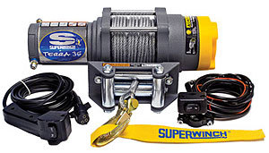 ATV 3500-3500# Winch w/Roller Fairlead