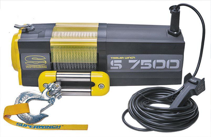 S7500-7500# Winch w/Roller Fairlead
