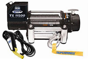 11500# Winch w/Roller Fairlead & 12ft Remote