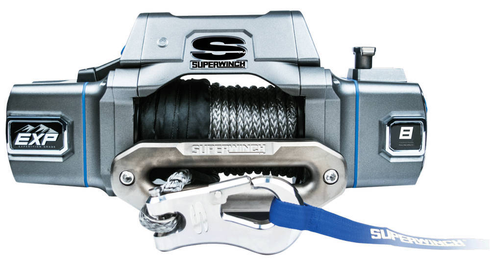 EXP8SI 8000 Lb Winch Syn thetic Rope Hawse