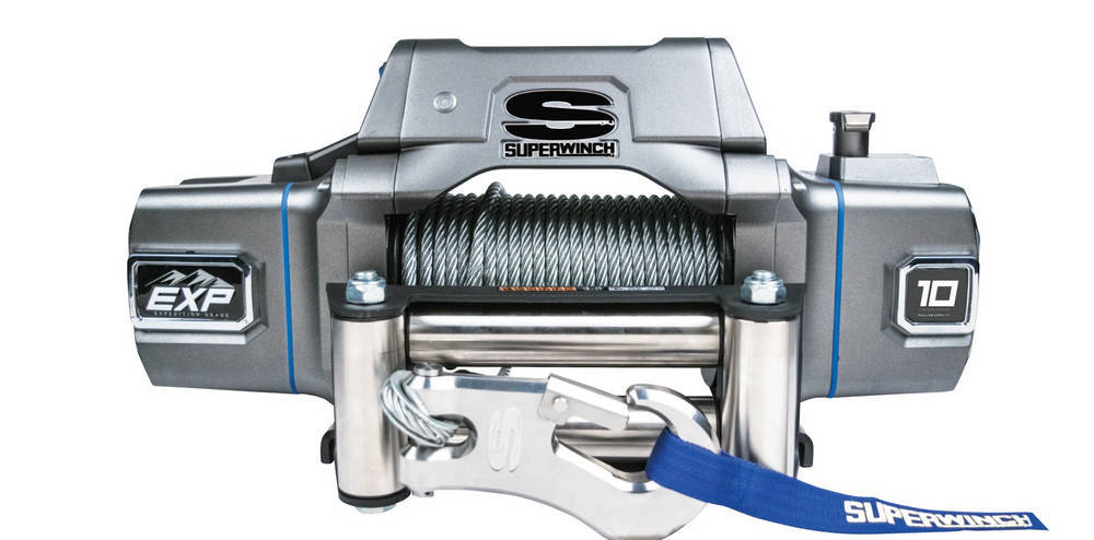 EXP8I 10000 Lb Winch Wir Rope Roller Fairlead