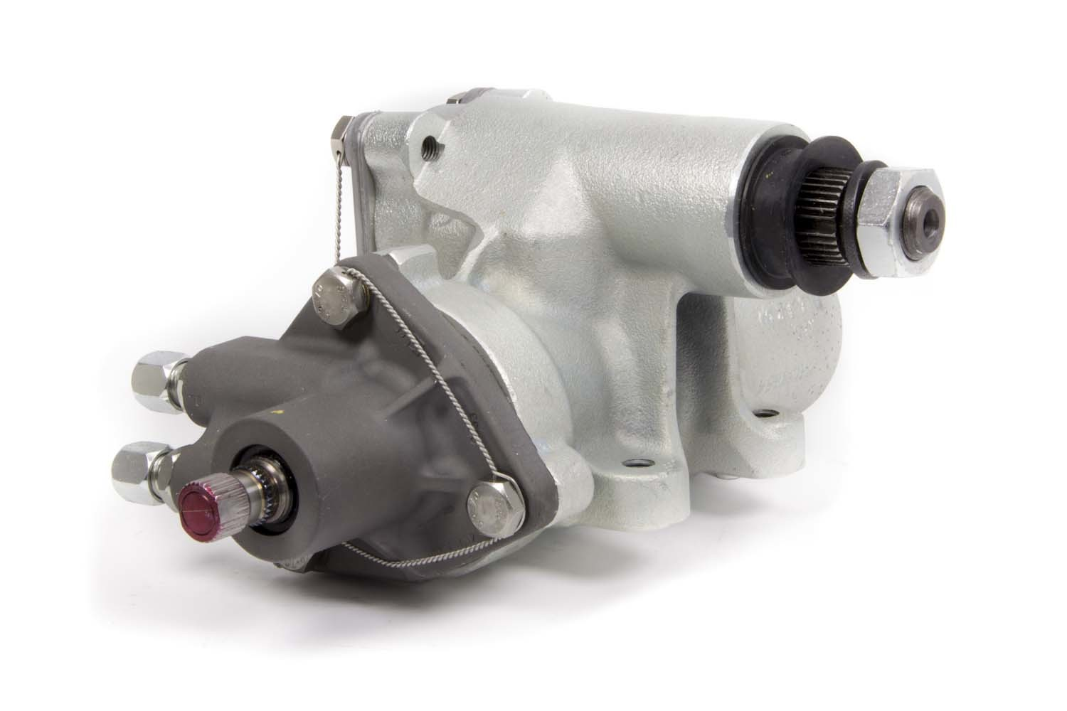 Sweet 209-10235 Steering Box, Power, 4-Bolt, 600 Gear, 10 to 1 Ratio, 0.235 in Valve, Iron, Natural, Universal, Each