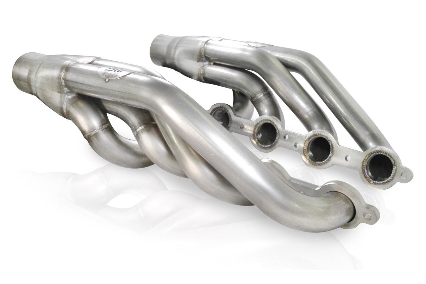 Stainless Works LSXT Headers, Upswept LS Turbo Swap, 1-7/8 in Primary, 3 in Collectors, Stainless, Natural, GM LS-Series, Kit