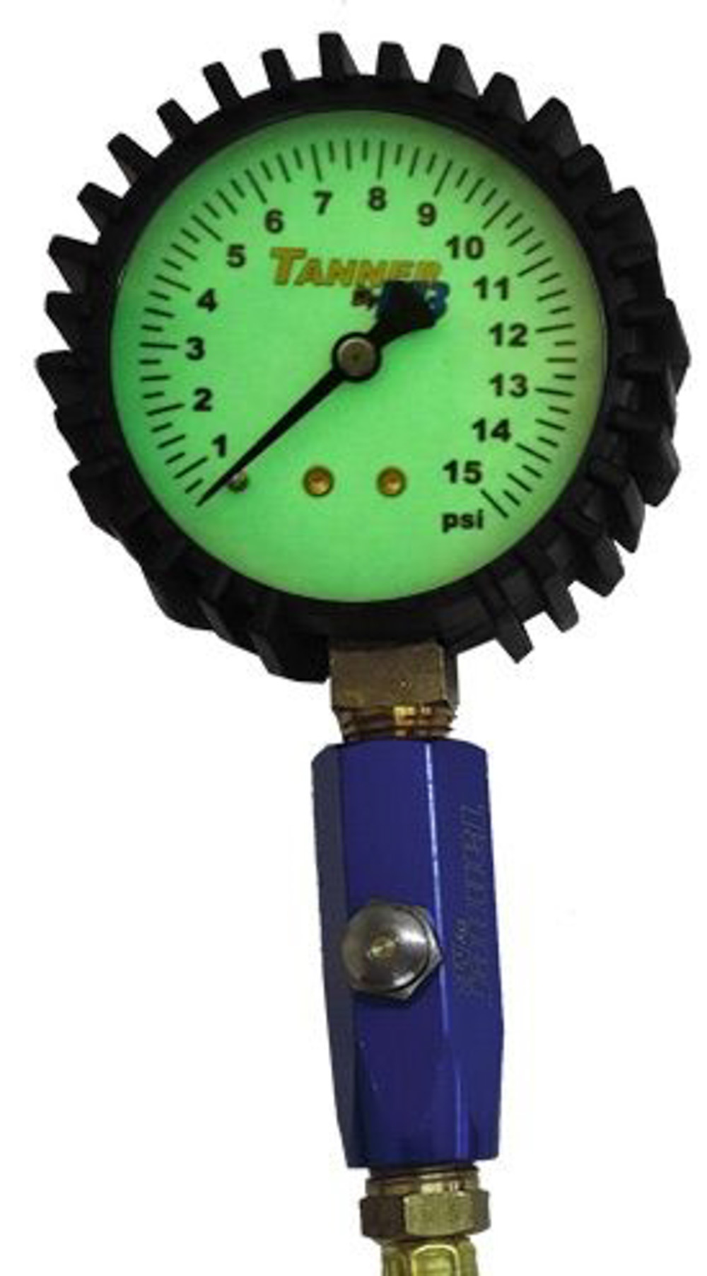 15 Lb Glow-In Dark Air Gauge