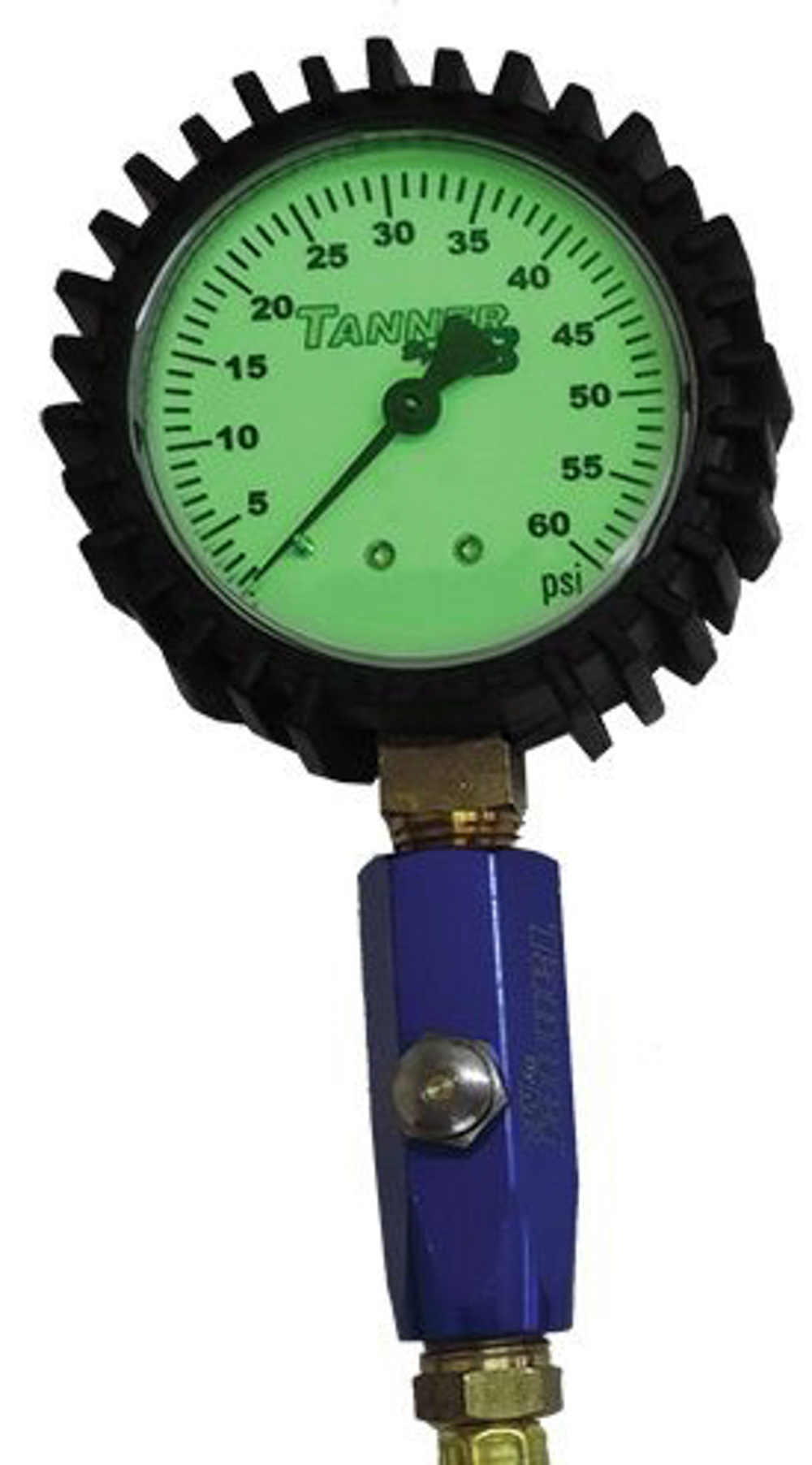 60lb. Glow In Dark Air Gauge