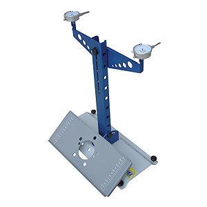 Tanner 56100 Bump Steer Gauge, Adjustable Stand, Analog, 5-Bolt / Wide 5 Wheel Plate, Kit