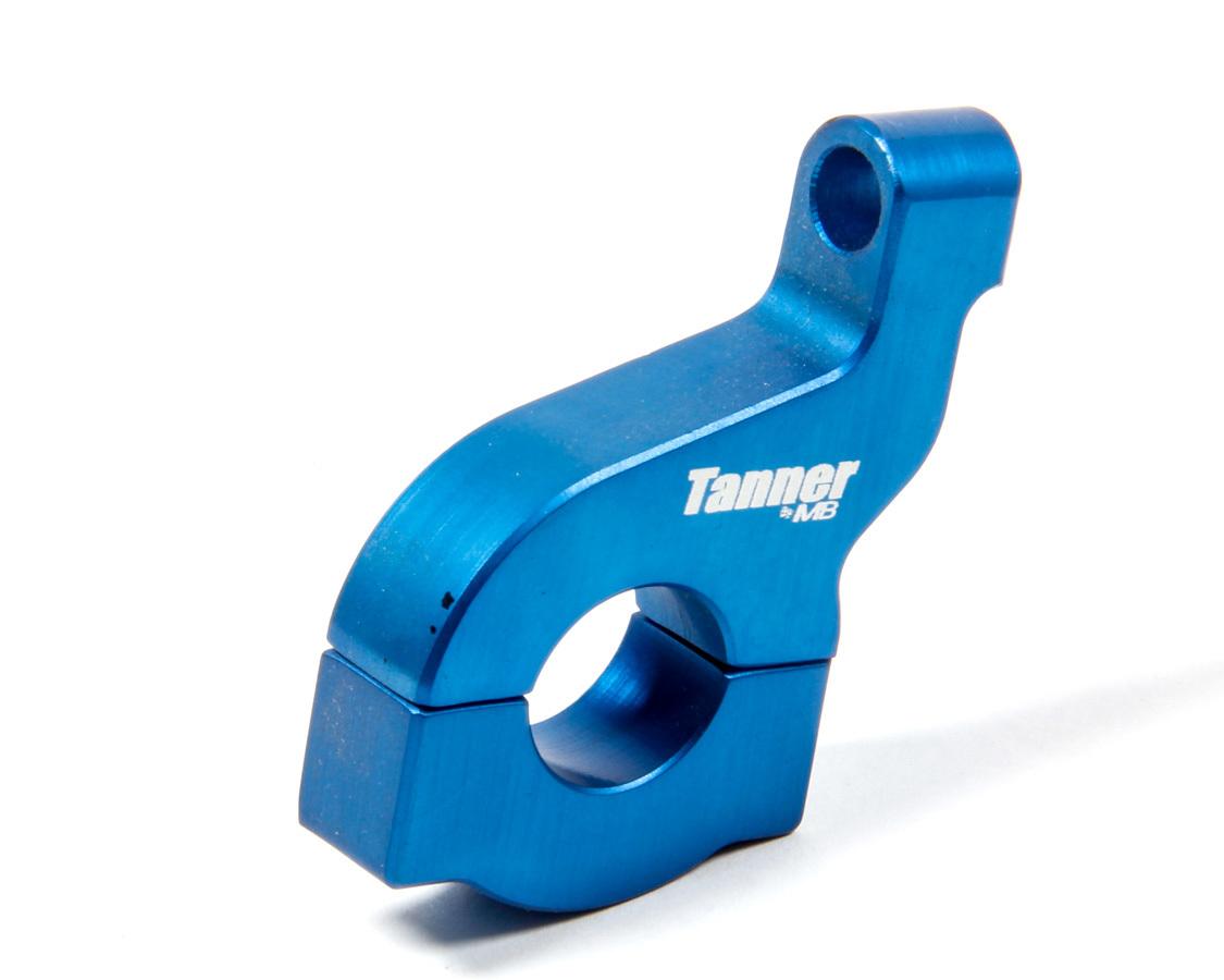Tanner 75024 Tachometer Bracket, Clamp-On, Aluminum, Blue Anodize, 3/4 Mychron Style, Each