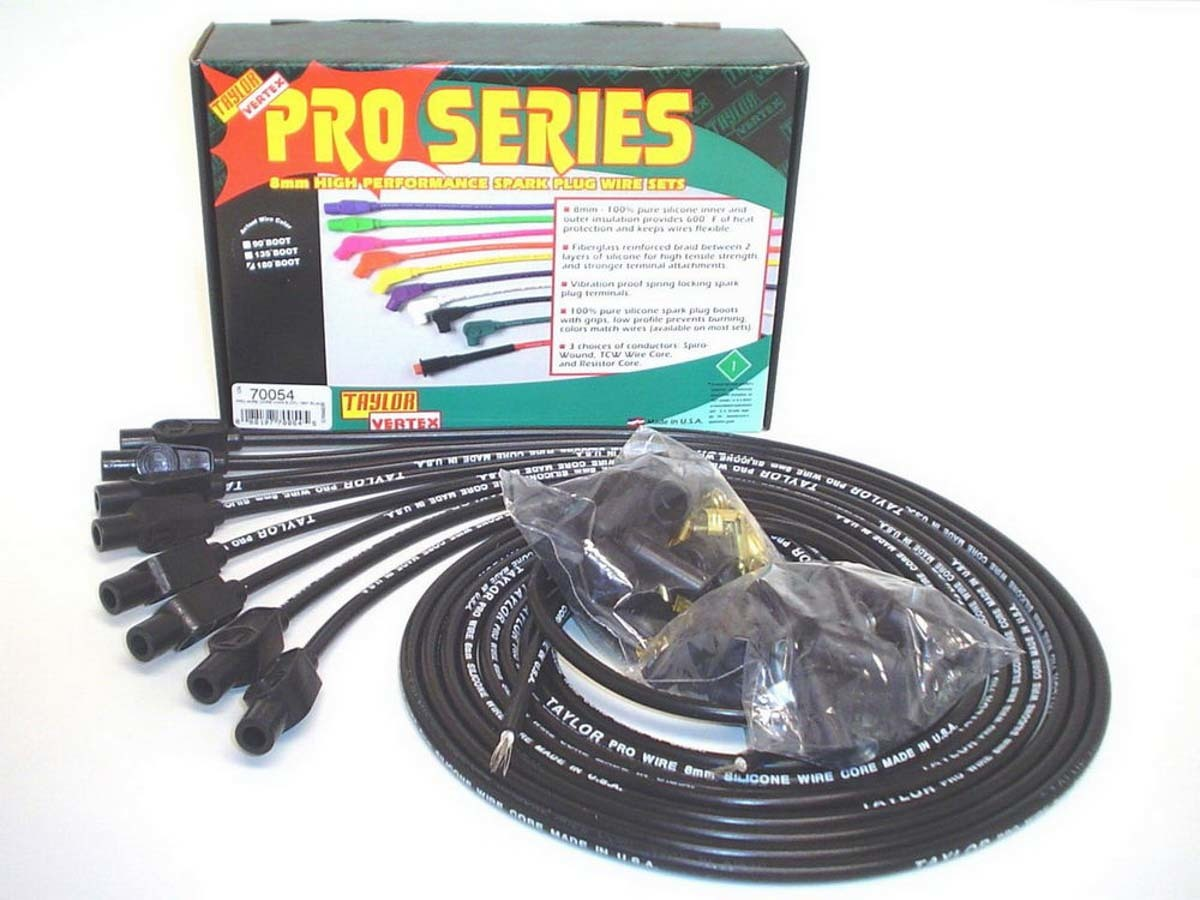 8mm Black Pro Wire 180 D