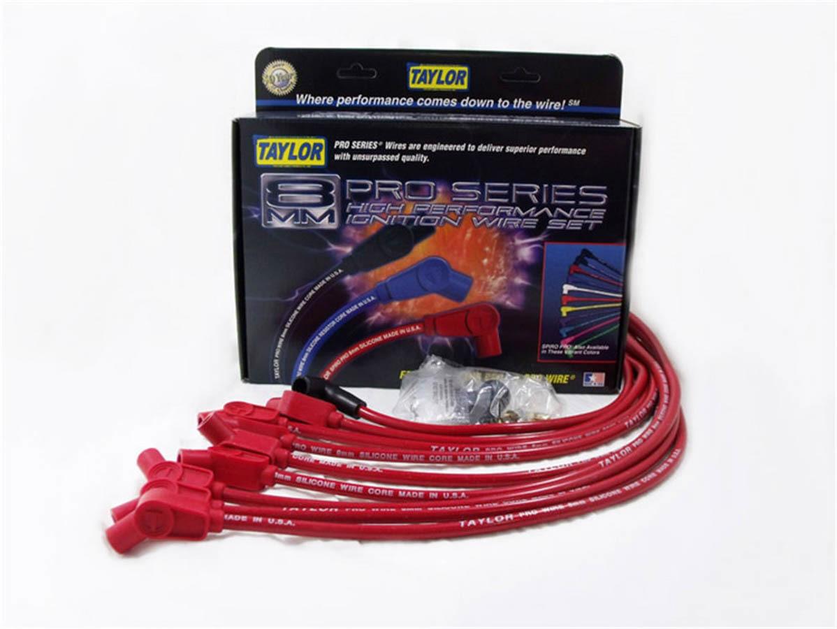 Taylor Cable 98058 ThunderVolt Race-Fit Spark Plug Wire Set