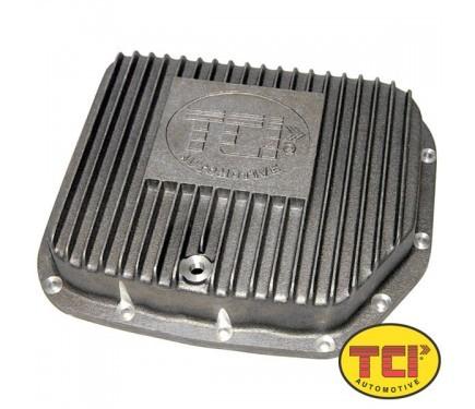 TCI 127900 Transmission Pan, Deep Sump, Adds 2.0 qt Capacity, Aluminum, Natural, Torqueflite 904, Kit