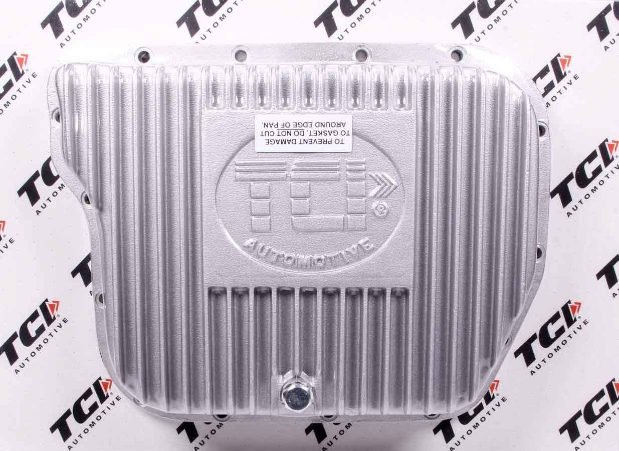 TCI 128000 Transmission Pan, Deep Sump, Adds 2.0 qt Capacity, Aluminum, Natural, Torqueflite 727, Kit