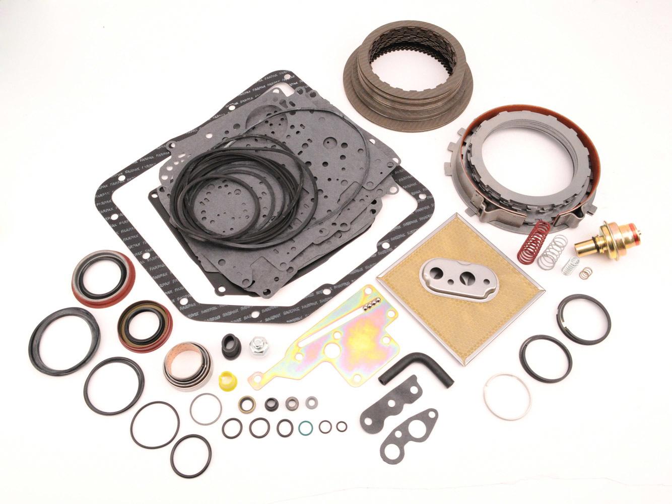 TCI 328800 Transmission Rebuild Kit, Automatic, Pro Super, Clutches / Bands / Filter / Gaskets / Seals, Modulator, Valve Body, TH350, Kit