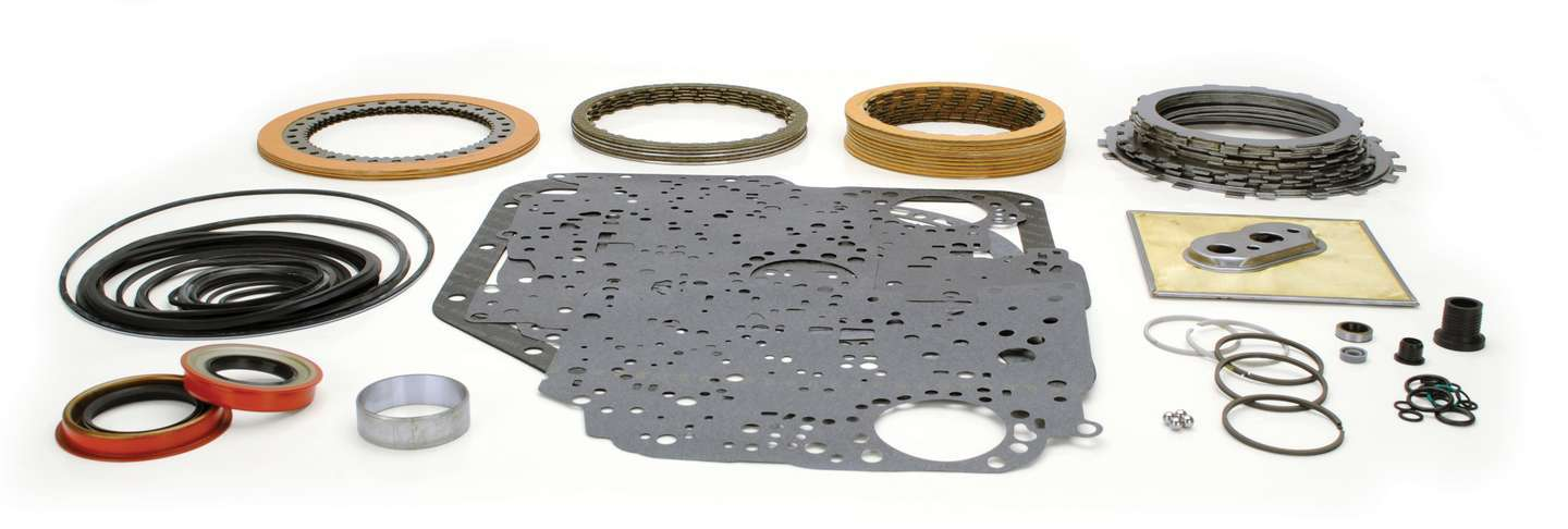 TCI 329000 Transmission Rebuild Kit, Automatic, Master Racing Overhaul, Clutches / Steels / Bands / Filter / Gaskets / Seals, TH350, Kit