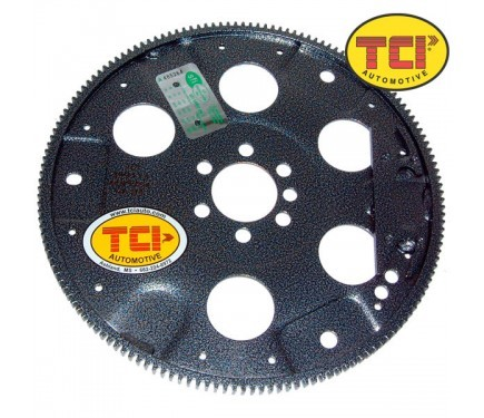 TCI 399174 Flexplate, 153 Tooth, SFI 29.1, Steel, Internal Balance, 1 Piece Seal, Small Block Chevy, Each