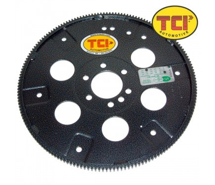 TCI 399773 Flexplate, 168 Tooth, SFI 29.1, Steel, External Balance, 1 Piece Seal, Small Block Chevy, Each