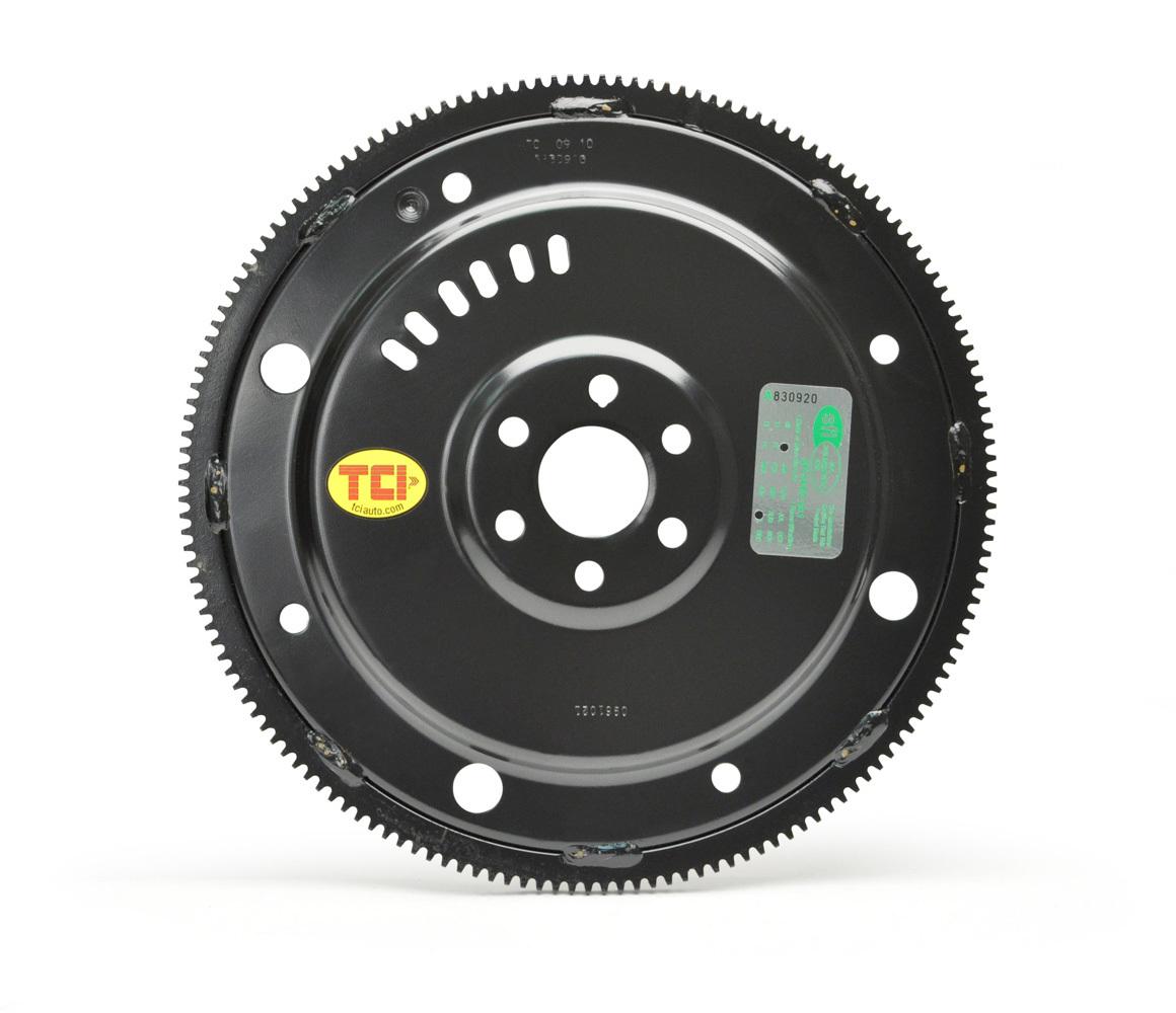 TCI 529615 Flexplate, 157 Tooth, SFI 29.1, Steel, Internal Balance, 10.5 in Bolt Circle, Ford V8, Each