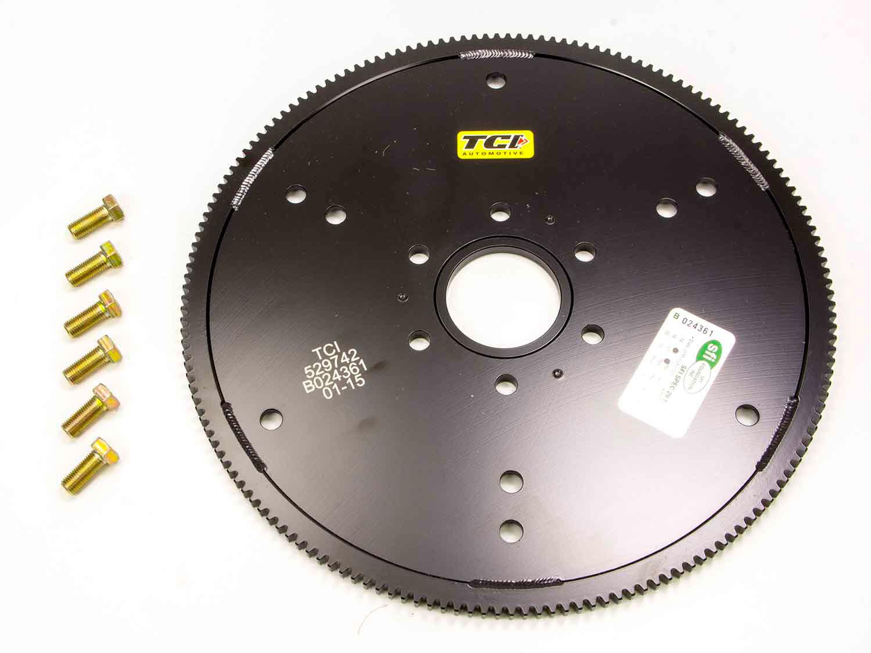 TCI 529742 Flexplate, 164 Tooth, SFI 29.1, Steel, Dual GM Pattern, TH350 / 400 / Powerglide, Internal Balance, Ford FE-Series, Each
