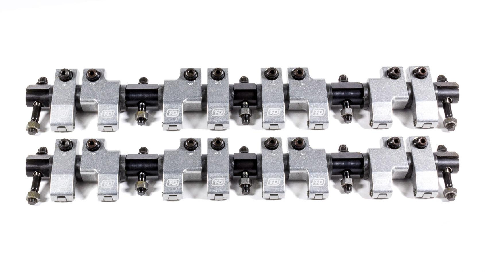 T&D Machine 8210-160/160 Rocker Arm, Shaft Mount, 1.60 Ratio, Full Roller, Aluminum, Natural, Indy 440-1 / 440-C Single Shaft, Mopar RB-Series, Kit