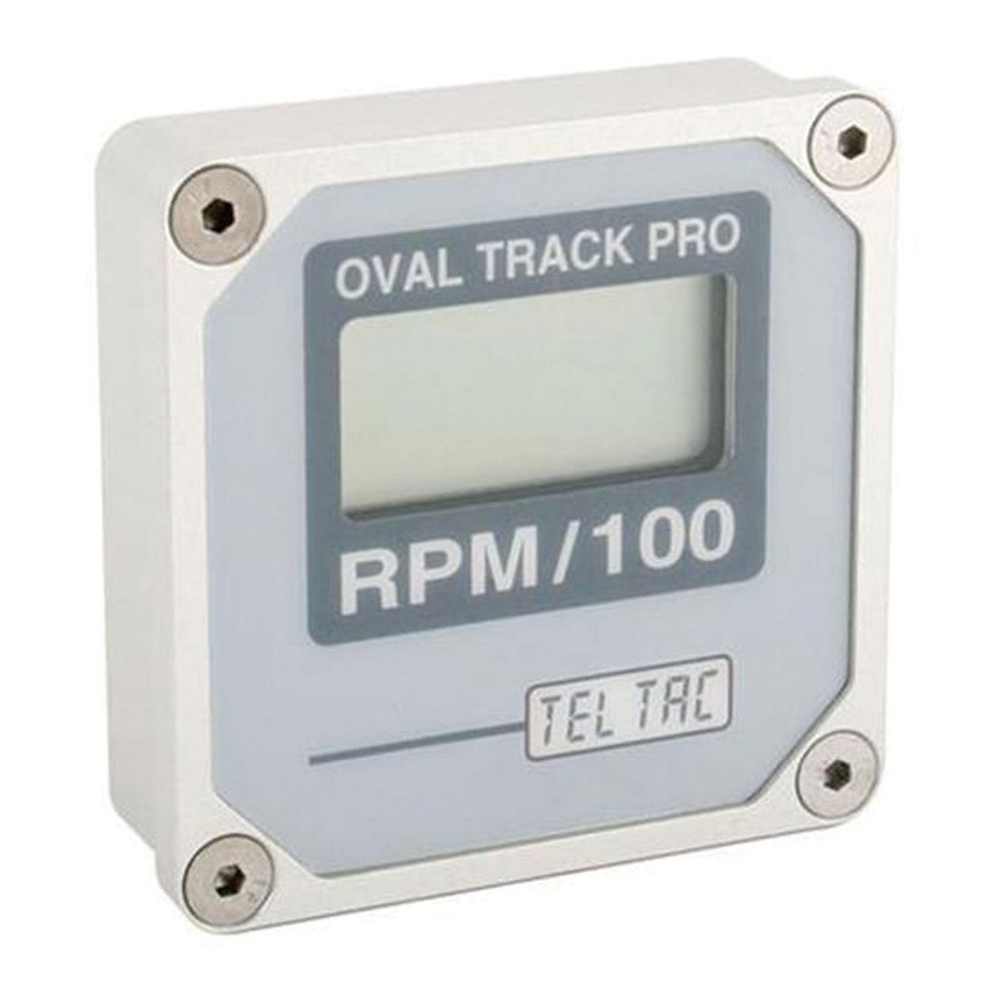 Oval Track Pro Tach Multi Recall